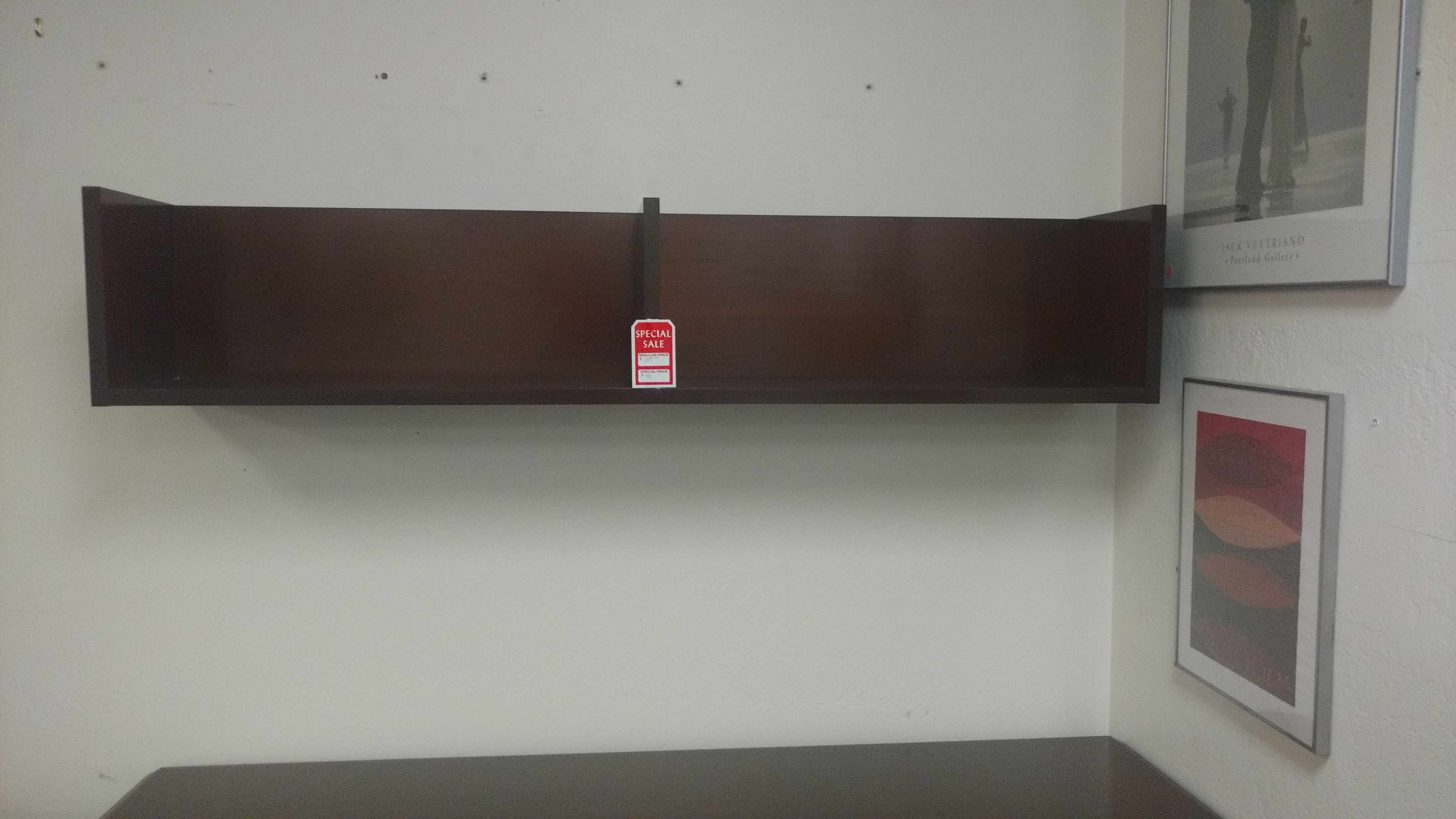 Used Kimball Senator Series Veneer Overhead Shelf Office