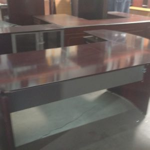 Used Mayline Napoli Series L Shaped Desk